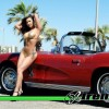 Red Corvette Convertible