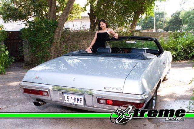 Silver Pontiac GTO Convertible | Xtreme Magazine